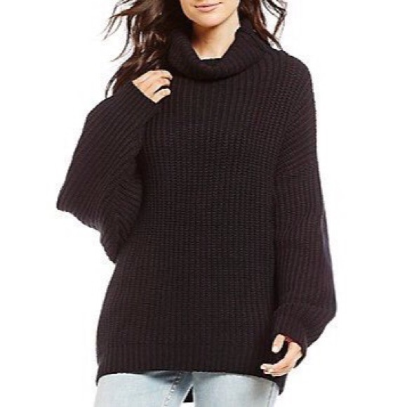 d2a53afde7 Free People Sweaters - Free People Swim Too Deep Chunky Knit Pullover SM